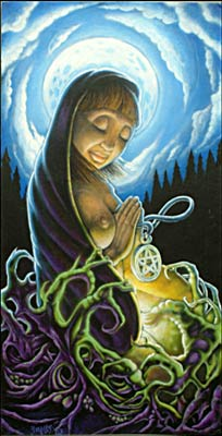 Pagan Mary by Jody Wells